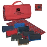 Promotional Blankets: Customized Roll-up Picnic Blanket