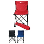 Promotional Chairs: Customized Price Buster Folding Chair with Carrying Bag