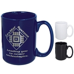 Promotional Ceramic Mugs: Customized 15 oz. El Grande Ceramic Mug