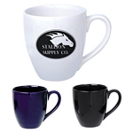 Promotional Ceramic Mugs: Customized 14 oz. Bistro Ceramic Mug