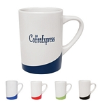 Promotional Ceramic Mugs: Customized 14 oz. The Curve Coffee Mug