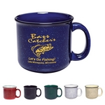 Promotional Ceramic Mugs: Customized 15 oz. Campfire Coffee Mug