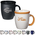 Promotional Ceramic Mugs: Customized 12 oz. Vista Coffee Mug