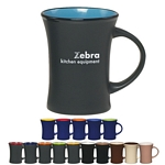 Promotional Ceramic Mugs: Customized 10 oz Aztec Flare Coffee Mug