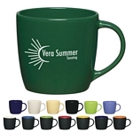 Promotional Ceramic Mugs: Customized 12 oz Cafe Coffee Mug