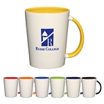 Promotional Ceramic Mugs: Customized 14 oz. Capri Mug