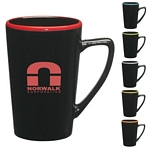 Promotional Ceramic Mugs: Customized 14 oz. Sausalito Mug