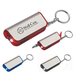 Promotional Key Chains: Customized Metal Finish Tool Kit Key Tag