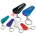 Promotional Key Chains: Customized Whistle Light Imprinted Key Chain