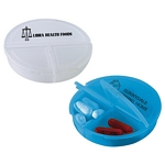 Promotional Pill Cutters: Customized 3 Compartment Pill Holder
