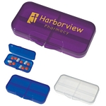 Promotional Pill Holders: Customized Rectangular Shape Pill Holder
