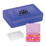 Promotional Pill Holders: Customized Rectangle Shape Pill Holder