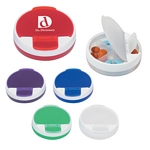 Promotional Pill Holders: Customized Round Travel Pill Holder