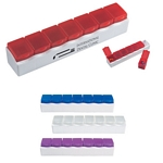 Promotional Pill Holders: Customized 7-Section Pill Holder