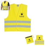 Promotional Safety Vest: Customized Reflective Travel Safety Vest
