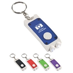 Promotional Key Chains: Customized Rectangular Dual LED Key Chain