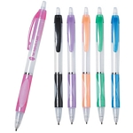 Promotional Plastic Pens: Customized Easy Clicker Clear Pen