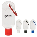 Promotional Hand Sanitizers: Customized 50ml Hand Sanitizer With Carabiner