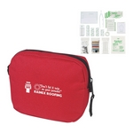 Promotional First Aid Kits: Customized First Aid Kit Red Pouch