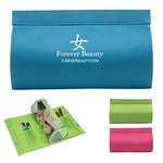 Promotional Toiletry Bags: Customized Cylinder Vanity Bag