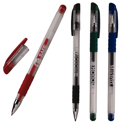 Customized Pen: Rubber Grip Gel Pen