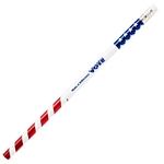 Customized Pen: Patriotic USA Foil Pencil
