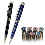 Customized Pen: Knight Executive Twist Dome Emblem Pen