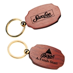 Customized Products: Rosewood Keytag