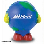 Promotional Globe Man Stress Ball - Promotional Products