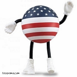 Promotional USA Man Stress Ball - Promotional Products