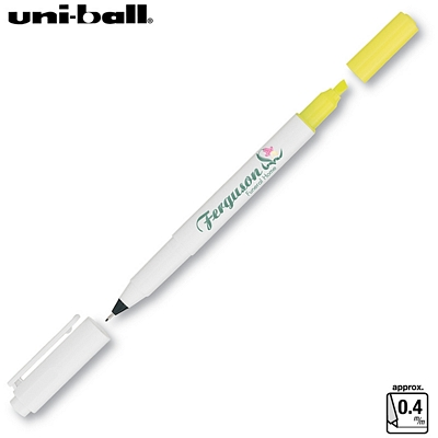 Customized Uni-ball Combi Ultra Fine Marker Highlighter