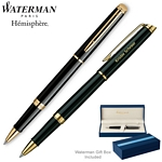 Customized Waterman Hemisphere Black GT Roller Ball Pen