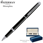 Customized Waterman Hemisphere Black CT Roller Ball Pen