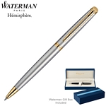 Customized Waterman Hemisphere Stainless GT Ballpoint Pen