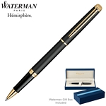 Customized Waterman Hemisphere Matte Black GT Roller Ball Pen