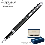 Customized Waterman Hemisphere Matte Black CT Roller Ball Pen