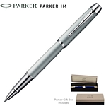 Customized Parker IM Silver CT Roller Ball Pen