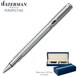 Customized Waterman Perspective Silver CT Roller Ball Pen