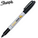 Customized Sharpie Autograph Black Permanent Marker
