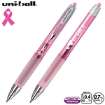 Customized Uni-ball 207 Pink Ribbon Awareness Gel Pen