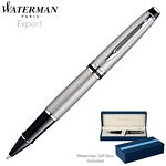 Customized Waterman Expert Stainless CT Roller Ball Pen