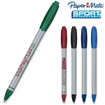 Customized Paper Mate Sport Retractable Silver Pen