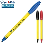 Customized Paper Mate Sport Retractable Yellow Pen