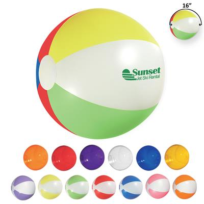 Promotional Beach Balls: Customized 16 Advertising Beach Ball