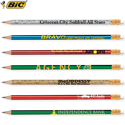 Customized Pens: BIC Pencil Foils