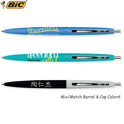 Customized Pens: BIC Clic Pen