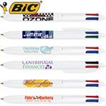 Customized Pens: BIC Four Color Multi-Ink Pen