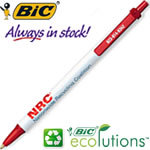 Customized Pens: BIC Clic Stic Ecolutions Recycled Pen
