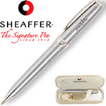Customized Pens: Sheaffer Prelude Chrome Ballpoint Pen