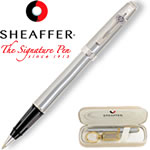 Customized Pens: Sheaffer Prelude Chrome Roller Ball Pen